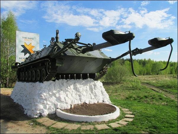 полигон инженерных-сапёрных войск